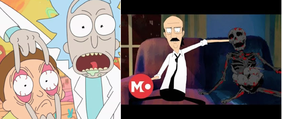 Gary and Rick (from Rick and Morty)