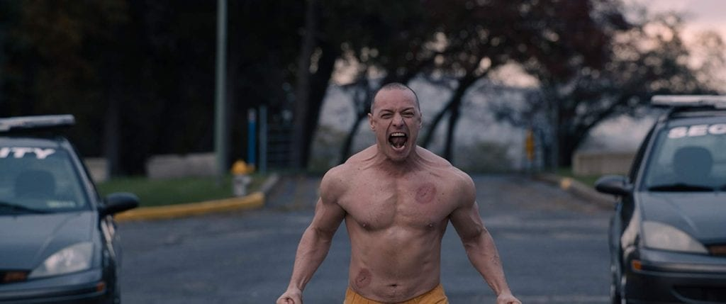 Kevin as The Beast (Glass Movie review)