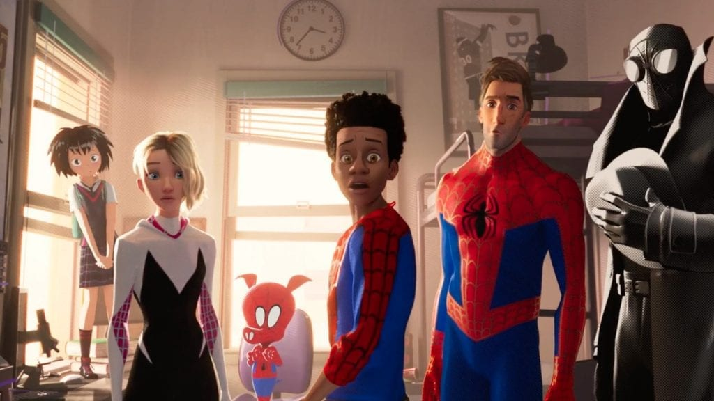 Spider-Man: Into the Spider-Verse ( Spider-Heroes)