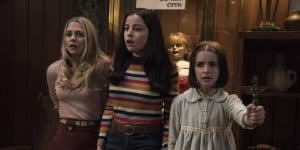 Mary Ellen, Daniela and Judy ( Annabelle Comes Home Credit : Warner Bros)