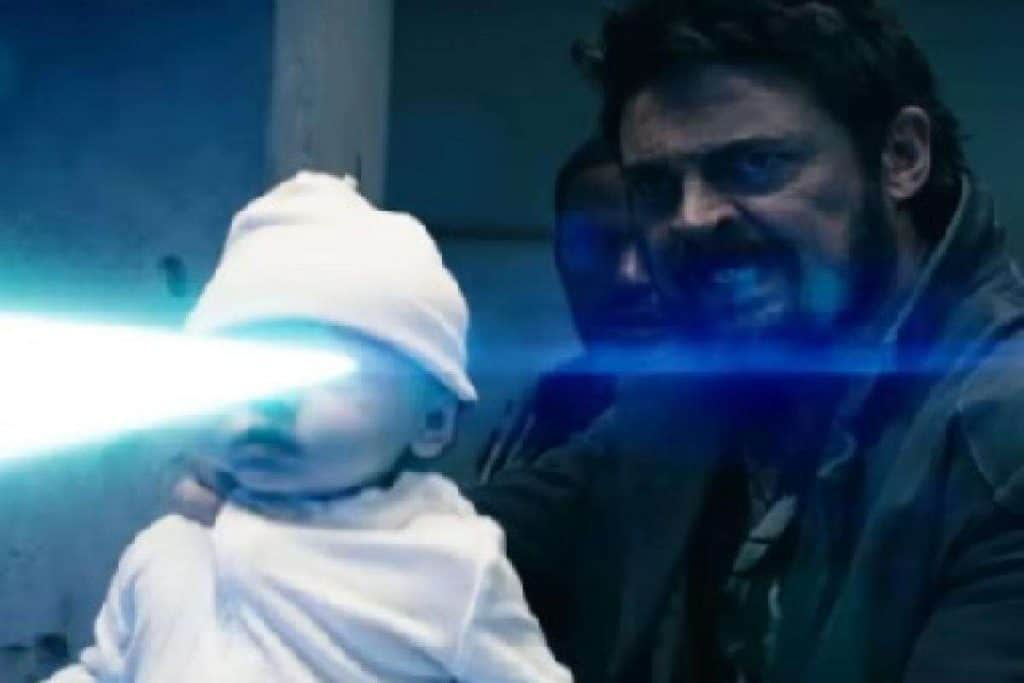 Baby With a Laser