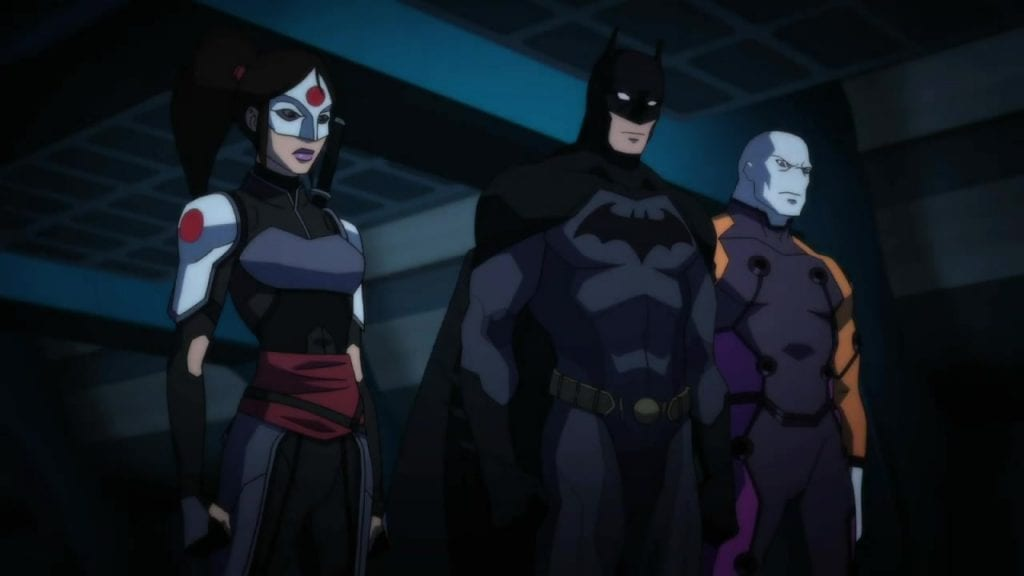 Batman Inc (The Young Justice: Outsiders)