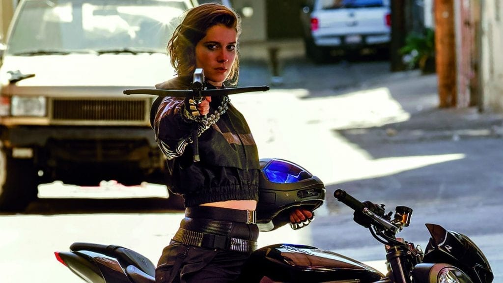Mary Elizabeth Winstead as the Crossbow killer A.K.A Huntress (Birds of Prey)
