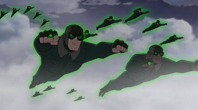 The Green Lantern Marine Corps.(Superman:Red Son Review)