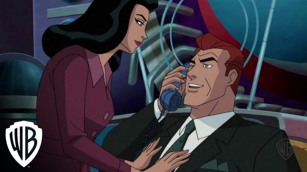 Lois Lane and her Husband Lex Luthor. SuperMan: Red Son Review