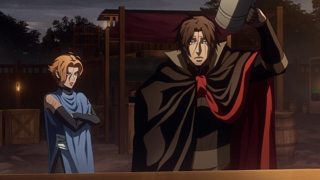 Trevor and Sypha (Castlevania Season 3)
