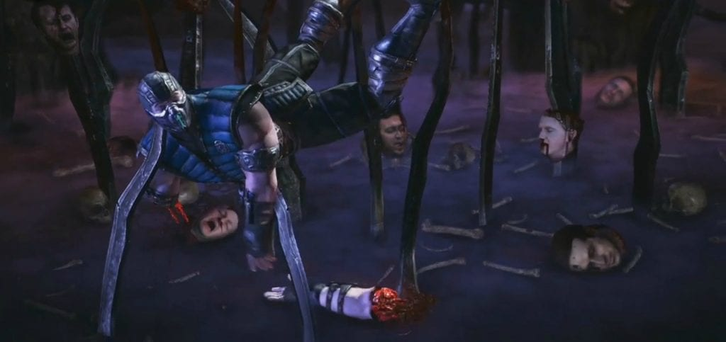 The Pit Stage Fatality (Mortal Kombat Legends: Scorpion's Revenge )