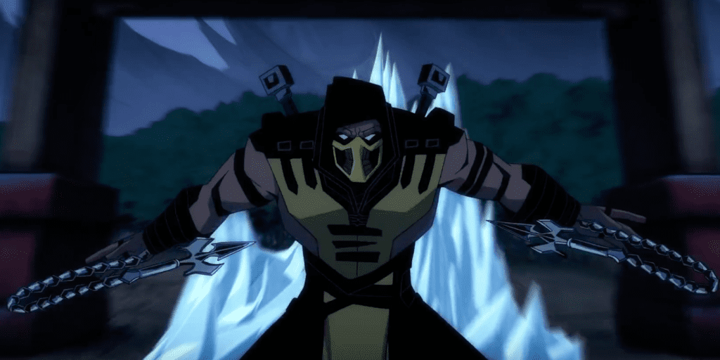 Hanzo Hasashi AKA Scorpion. (Mortal Kombat Legends: Scorpion's Revenge)