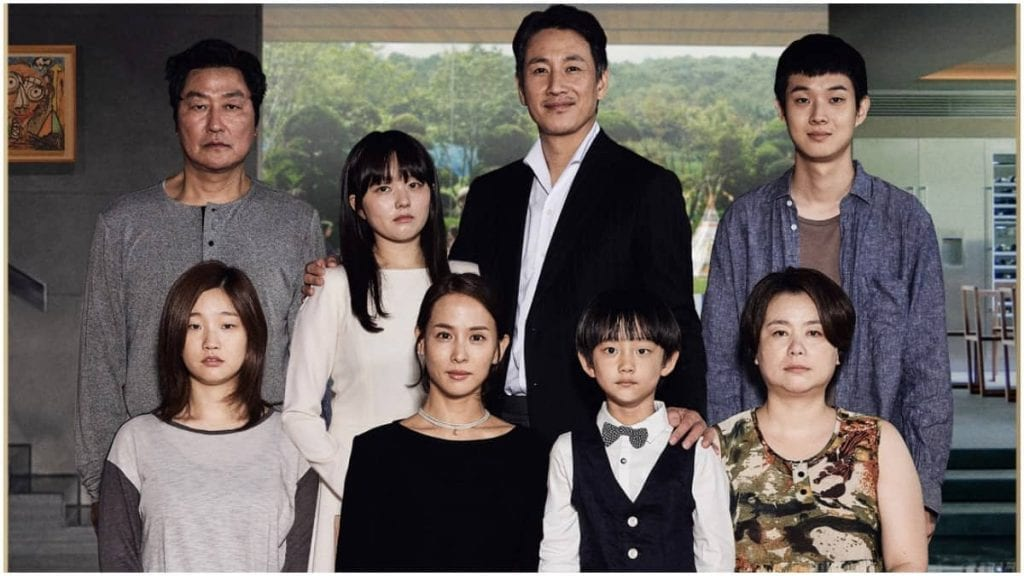 The Kim and the Parks family (Parasite)