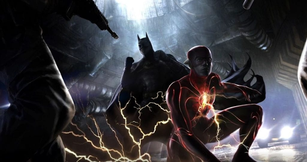 Batman and The Flash (The Flash Movie)