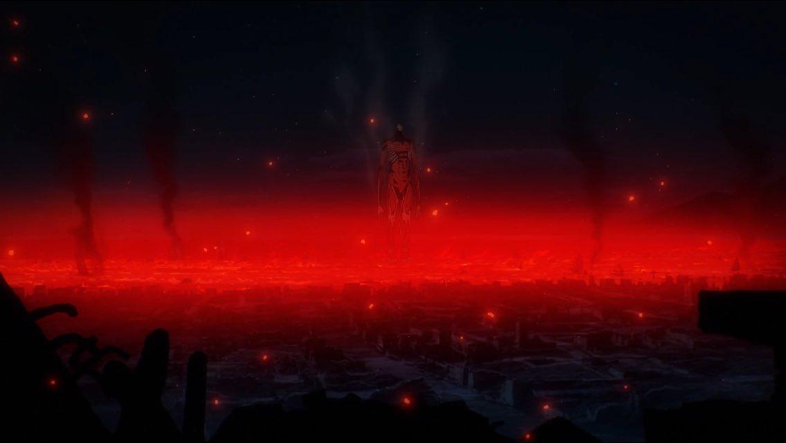 Armin's Colossal Titan (Attack on Titan Season 4)