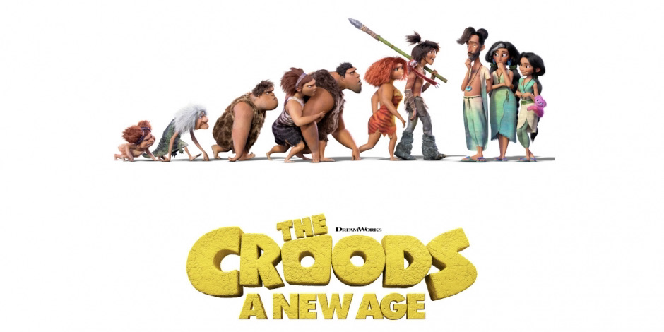 The Croods: A New Age (The Best Animated Movies and Shows of 2020)